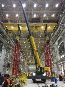 Over head crane repair